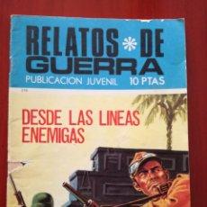 Tebeos: RELATOS DE GUERRA N° 218. Lote 128435892