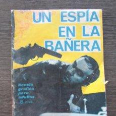 Comics - ESPIONAJE Nº 25. UN ESPÍA EN LA BAÑERA. EDICIONES TORAY - 128543819