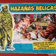 Tebeos: HAZAÑAS BÉLICAS SECCIÓN, AZUL N° 53. Lote 128620559
