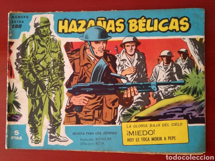 HAZAÑAS BÉLICAS, SECCIÓN AZUL N°188 (Tebeos y Comics - Toray - Hazañas Bélicas)