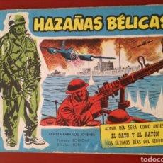 Tebeos: HAZAÑAS BÉLICAS, SECCIÓN AZUL N°204. Lote 128623879
