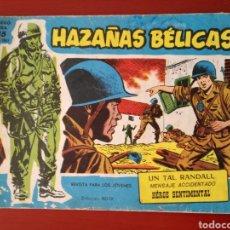 Tebeos: HAZAÑAS BÉLICAS, SECCIÓN AZUL N°215. Lote 128626998