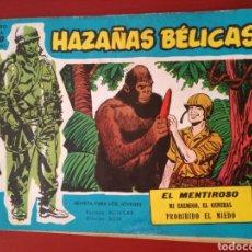 Tebeos: HAZAÑAS BÉLICAS, SECCIÓN AZUL N°220. Lote 128628382