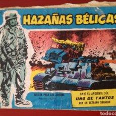 Tebeos: HAZAÑAS BÉLICAS, SECCIÓN AZUL N°260. Lote 128630370