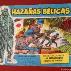Tebeos: HAZAÑAS BÉLICAS, SECCIÓN AZUL N°264. Lote 128630623
