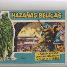 Tebeos: HAZAÑAS BELICAS-AÑO 1958-B/N-TORAY-APAISADO-PRESTIGE-BOIXCAR-VOL.30-Y POR FIN SE CASO-UN NEGRO EN.... Lote 128662899