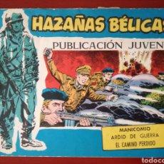 Tebeos: HAZAÑAS BÉLICAS, SECCIÓN AZUL N°346. Lote 128701963