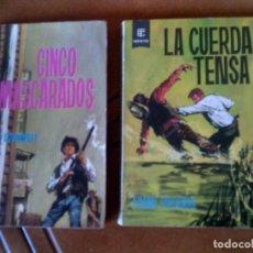 Tebeos: LOTE DE NOVELAS DEL OESTE DE TORAY NUMEROS 179,161 AÑO 1964. Lote 128801583