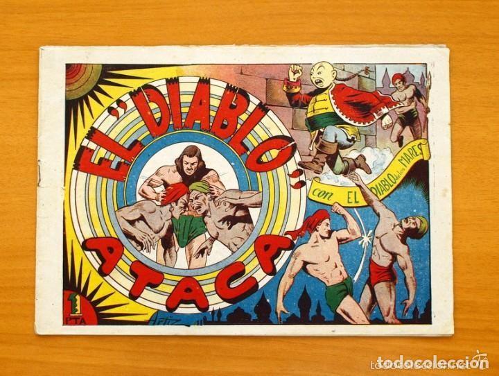 EL DIABLO DE LOS MARES - Nº 11 EL DIABLO ATACA - EDICIONES TORAY 1947 (Tebeos y Comics - Toray - Diablo de los Mares)