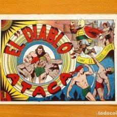 Tebeos: EL DIABLO DE LOS MARES - Nº 11 EL DIABLO ATACA - EDICIONES TORAY 1947. Lote 128814027