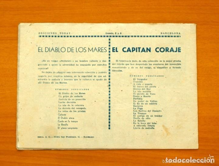 Tebeos: El diablo de los mares - nº 11 el diablo ataca - Ediciones Toray 1947 - Foto 3 - 128814027