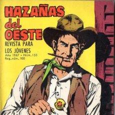 Tebeos: OCHO NÚMEROS HAZAÑAS DEL OESTE - VER DETALLE E IMÁGENES.. Lote 128814087