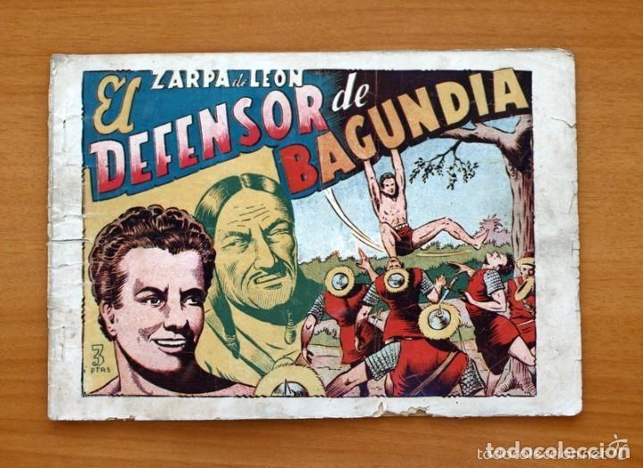 ZARPA DE LEÓN, ALBUM Nº 3 - EL DEFENSOR DE BAGUNDIA - EDICIONES TORAY 1951 (Tebeos y Comics - Toray - Zarpa de León)
