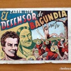 Tebeos: ZARPA DE LEÓN, ALBUM Nº 3 - EL DEFENSOR DE BAGUNDIA - EDICIONES TORAY 1951. Lote 128814303