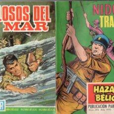 Tebeos: NUEVE NÚMEROS HAZAÑAS BÉLICAS - VER DETALLE E IMÁGENES.. Lote 128850067
