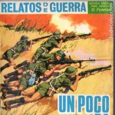 Tebeos: RELATOS DE GUERRA NÚMS. 83 Y 122. Lote 128850307