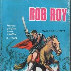 Tebeos: WALTER SCOTT : ROB ROY (NOVELAS GRÁFICAS TORAY, 1966. Lote 128852075