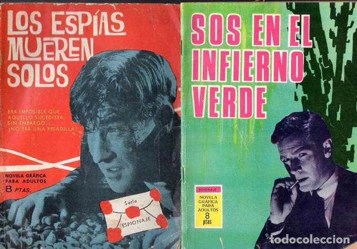 ESPIONAJE TORAY NÚMEROS 1, 35 Y 56. (Tebeos y Comics - Toray - Espionaje)