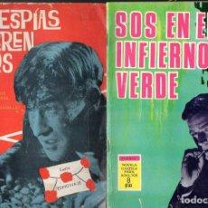Tebeos: ESPIONAJE TORAY NÚMEROS 1, 35 Y 56.. Lote 128855919