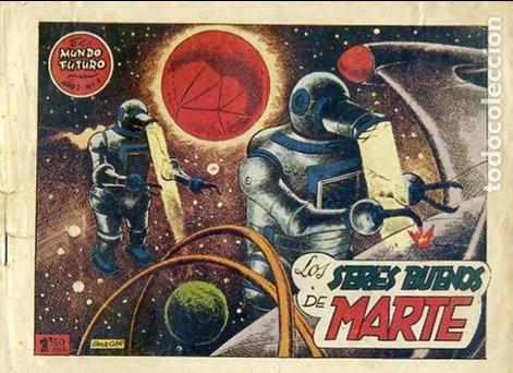 COMIC ORIGINAL EL MUNDO FUTURO EDITORIAL TORAY DIBUJADO POR BOIXCAR Nº1 DE LA COLECCION (Tebeos y Comics - Toray - Mundo Futuro)