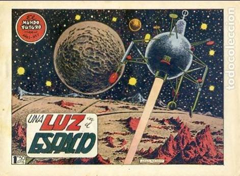 COMIC ORIGINAL EL MUNDO FUTURO EDITORIAL TORAY DIBUJADO POR BOIXCAR Nº7 (Tebeos y Comics - Toray - Mundo Futuro)
