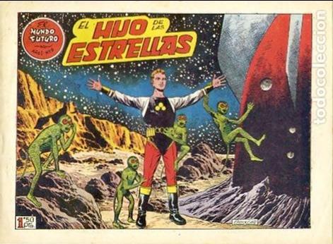 COMIC ORIGINAL EL MUNDO FUTURO EDITORIAL TORAY DIBUJADO POR BOIXCAR Nº9 (Tebeos y Comics - Toray - Mundo Futuro)