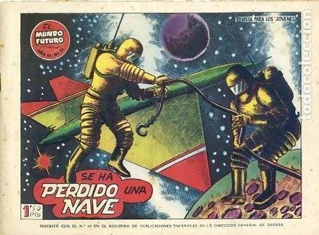 COMIC ORIGINAL EL MUNDO FUTURO EDITORIAL TORAY DIBUJADO POR BOIXCAR Nº51 (Tebeos y Comics - Toray - Mundo Futuro)