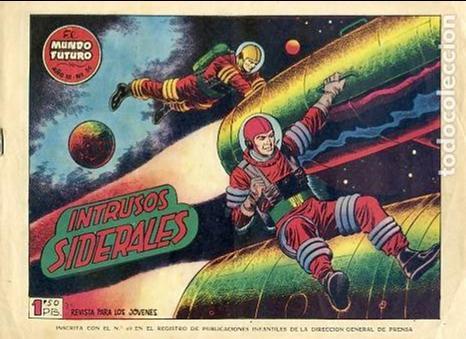COMIC ORIGINAL EL MUNDO FUTURO EDITORIAL TORAY DIBUJADO POR BOIXCAR Nº56 (Tebeos y Comics - Toray - Mundo Futuro)