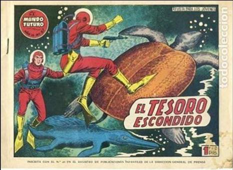 COMIC ORIGINAL EL MUNDO FUTURO EDITORIAL TORAY DIBUJADO POR BOIXCAR Nº57 (Tebeos y Comics - Toray - Mundo Futuro)