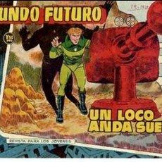 Tebeos: COMIC ORIGINAL EL MUNDO FUTURO EDITORIAL TORAY DIBUJADO POR BOIXCAR Nº 73. Lote 128890647