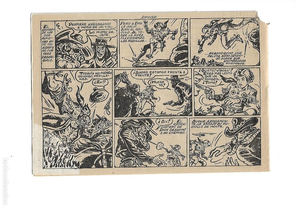 Tebeos: Dick Relámpago, Año 1.960. Colección Completa son 28. Tebeos Originales Dibujante G. Iranzo. - Foto 33 - 128968119