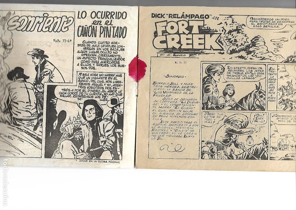 Tebeos: Dick Relámpago, Año 1.960. Colección Completa son 28. Tebeos Originales Dibujante G. Iranzo. - Foto 34 - 128968119