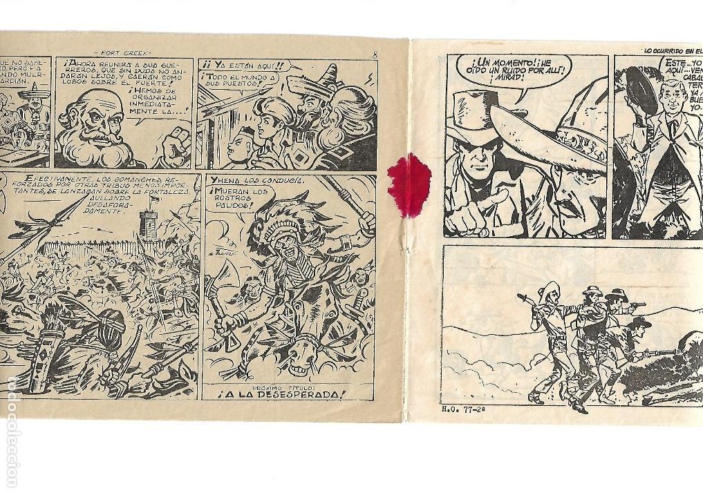 Tebeos: Dick Relámpago, Año 1.960. Colección Completa son 28. Tebeos Originales Dibujante G. Iranzo. - Foto 37 - 128968119