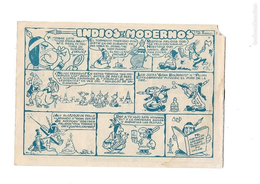 Tebeos: Dick Relámpago, Año 1.960. Colección Completa son 28. Tebeos Originales Dibujante G. Iranzo. - Foto 3 - 128968119