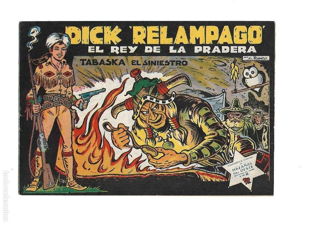 Tebeos: Dick Relámpago, Año 1.960. Colección Completa son 28. Tebeos Originales Dibujante G. Iranzo. - Foto 6 - 128968119