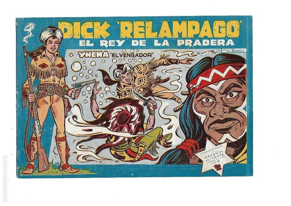 Tebeos: Dick Relámpago, Año 1.960. Colección Completa son 28. Tebeos Originales Dibujante G. Iranzo. - Foto 13 - 128968119