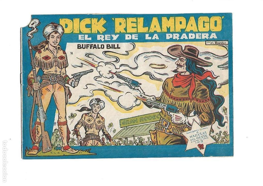 Tebeos: Dick Relámpago, Año 1.960. Colección Completa son 28. Tebeos Originales Dibujante G. Iranzo. - Foto 16 - 128968119