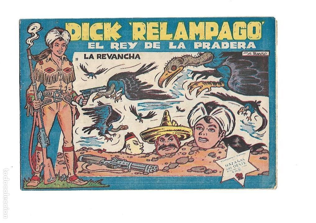 Tebeos: Dick Relámpago, Año 1.960. Colección Completa son 28. Tebeos Originales Dibujante G. Iranzo. - Foto 21 - 128968119