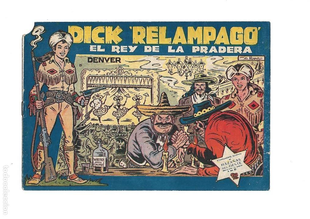 Tebeos: Dick Relámpago, Año 1.960. Colección Completa son 28. Tebeos Originales Dibujante G. Iranzo. - Foto 27 - 128968119