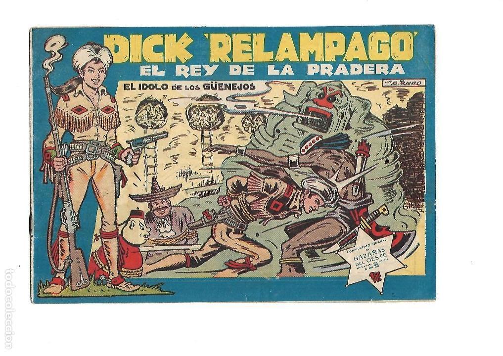 Tebeos: Dick Relámpago, Año 1.960. Colección Completa son 28. Tebeos Originales Dibujante G. Iranzo. - Foto 29 - 128968119