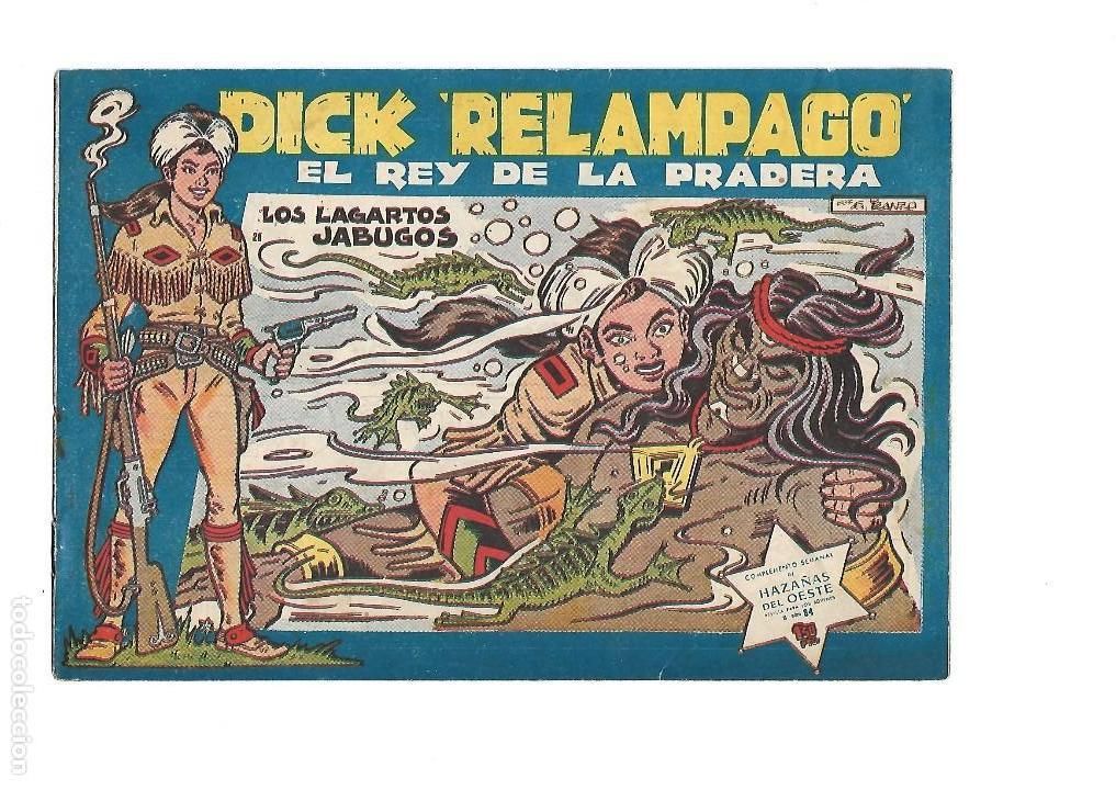 Tebeos: Dick Relámpago, Año 1.960. Colección Completa son 28. Tebeos Originales Dibujante G. Iranzo. - Foto 30 - 128968119