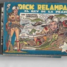 Tebeos: DICK RELÁMPAGO, AÑO 1.960. COLECCIÓN COMPLETA SON 28. TEBEOS ORIGINALES DIBUJANTE G. IRANZO.. Lote 128968119