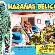 Tebeos: DIEZ NÚMEROS HAZAÑAS BÉLICAS - VER DETALLE E IMÁGENES.. Lote 129247139