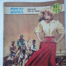 Tebeos: SIOUX Nº 117 - LONGARÓN - J. DUARTE - 1968 TORAY. Lote 129746187