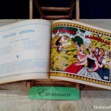 Tebeos: COLECCIÓN CUENTOS AZUCENA - TOMO II - 25 CUADERNILLOS ORIGINALES DE 1950 - ORDENADOS DEL 26 AL 50.. Lote 130029643