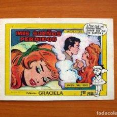 Tebeos: GRACIELA - MIS SUEÑOS PERDIDOS, Nº 273 - EDICIONES TORAY 1956 . Lote 130254982