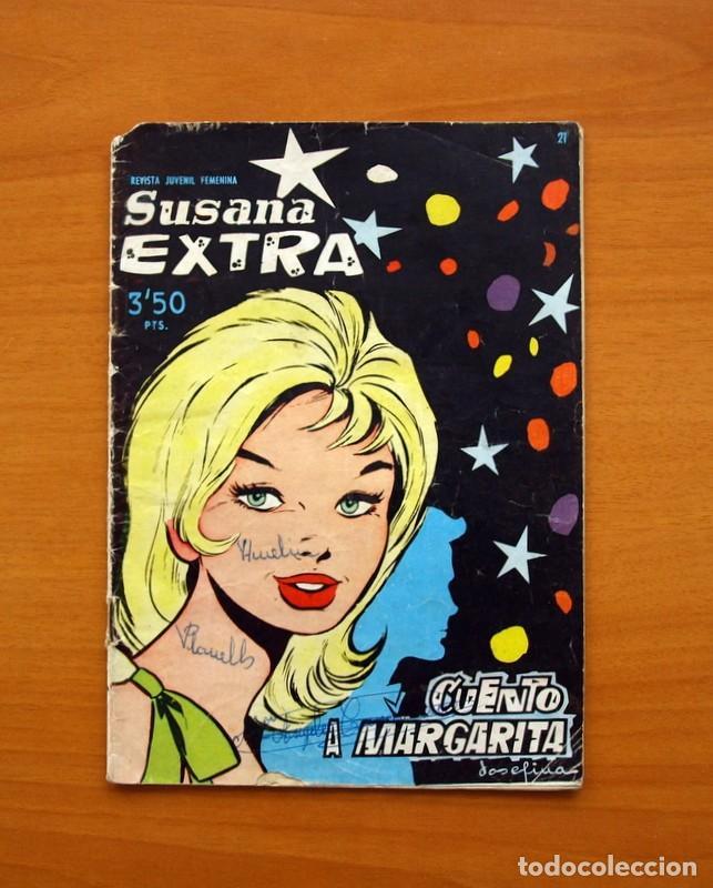 SUSANA EXTRA, CUENTO A MARGARITA, Nº 21 - EDICIONES TORAY 1960 (Tebeos y Comics - Toray - Susana)