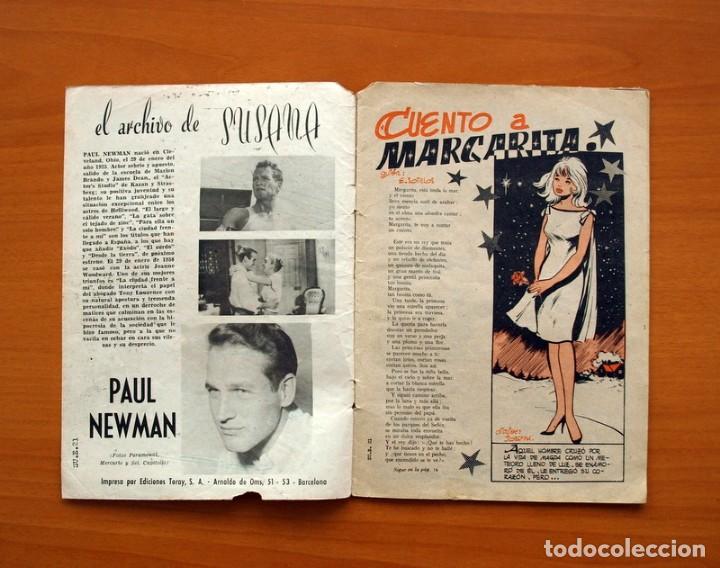 Tebeos: Susana Extra, Cuento a Margarita, nº 21 - Ediciones Toray 1960 - Foto 2 - 130300030