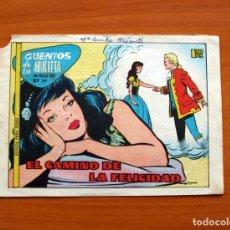 Tebeos: CUENTOS DE LA ABUELITA - EL CAMINO DE LA FELICIDAD, Nº 349 - EDICIONES TORAY 1949. Lote 130319678