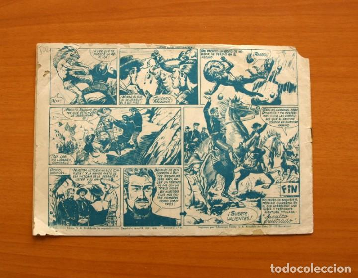 Tebeos: Arizona - Lucha en el desfiladero, nº 4 - Ediciones Toray 1959 - Foto 7 - 130340342